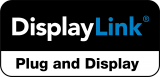 DisplayLink Plug and Display logo
