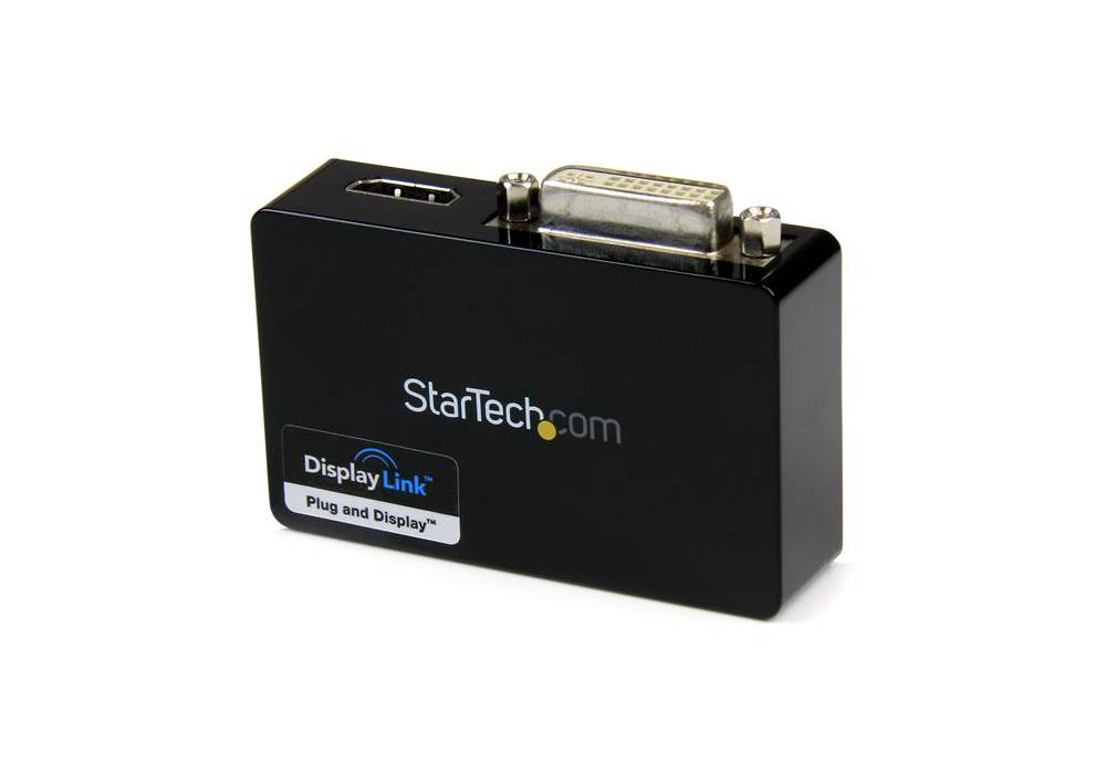 StarTech USB3 to HDMI and DVI dual monitor adapter (USB32HDDVII)