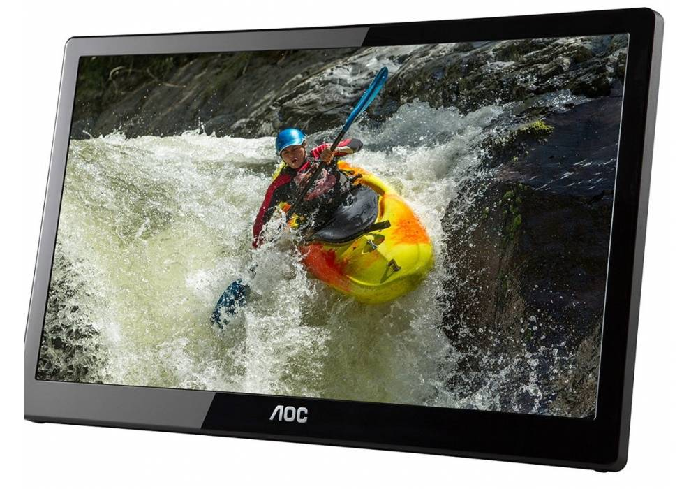 AOC e1659Fwux- Pro 16-Inch Class, Full HD 1920x1080 USB 3.0-Powered, Portable LED Monitor