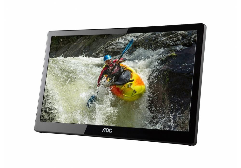AOC e1659Fwux- Pro 16-Inch Class, Full HD 1920x1080 USB 3.0-Powered, Portable LED Monitor